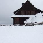 Schronisko nad Wierchomlą - zima