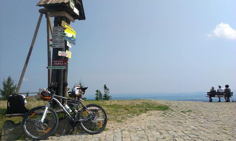 Jaworzyna - rower
